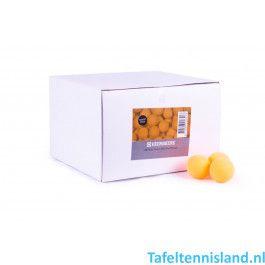 Heemskerk Tafeltennis ballen Fun 100 stuks Oranje
