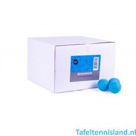 Heemskerk Tafeltennis ballen Fun 100 stuks Blauw