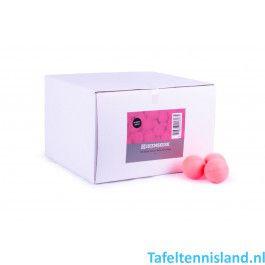 Heemskerk Tafeltennis ballen Fun 100 stuks Roze
