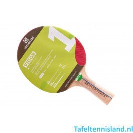 Heemskerk Tafeltennis batje Vigor 1 ster
