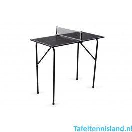 Heemskerk Tafeltennistafel Mini indoor Zwart