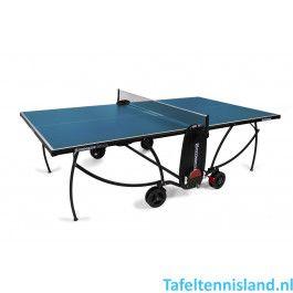 Heemskerk Tafeltennistafel Rol Compact 1850 indoor Blauw