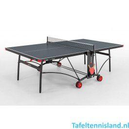 SPONETA Tafeltennis tafel SportLine S3-80i Indoor grijs
