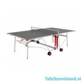 SPONETA Tafeltennis tafel SportLine S3-80e Outdoor Grijs