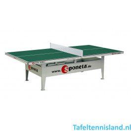 SPONETA Tafeltennis tafel ActiveLine S6-66e Outdoor Groen