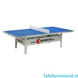 SPONETA Tafeltennis tafel ActiveLine S6-67e Outdoor Blauw