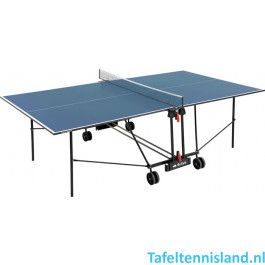Buffalo Tafeltennis tafel Basic Indoor blauw