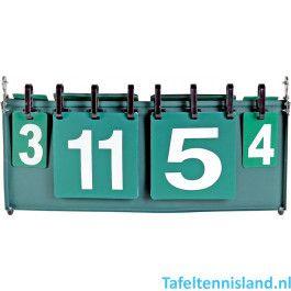 Buffalo Tafeltennis Scorebord 2 Spelers
