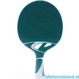 Cornilleau Tafeltennis batje Tacteo 50 Turquoise