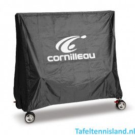 Cornilleau Tafeltennis Afdekhoes Extra Antraciet