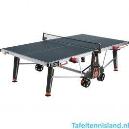 Cornilleau tafeltennistafel 600X outdoor blauw