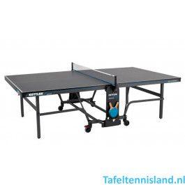 Kettler tafeltennistafel K10 - indoor grijs / donkergrijs / blauw