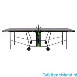 Kettler tafeltennistafel K1 - indoor zwart / donkergrijs / groen