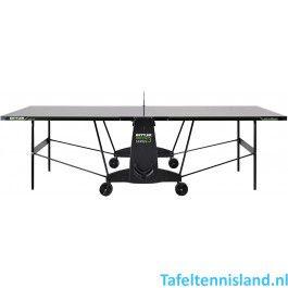Kettler tafeltennistafel K3 - outdoor zwart / donkergrijs / groen