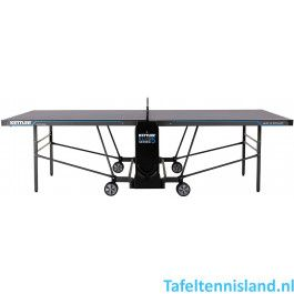 Kettler tafeltennistafel K5 - outdoor zwart / donkergrijs / blauw
