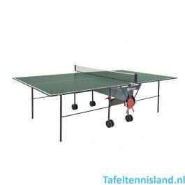 SPONETA Tafeltennis tafel HobbyLine S1-12i Indoor Groen