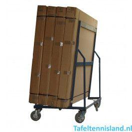 Heemskerk Transportwagen voor 4 tafeltennistafels