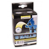 Buffalo 3* Competitie tafeltennisballen 6st. Celluloidvrij